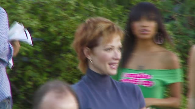 lauren holly at the 'open season' premiere at the greek theater in los angeles california on september 25 2006 - lauren holly stock videos and b-roll footage