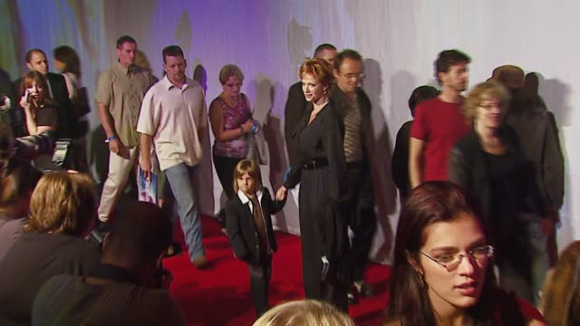 lauren holly at the opening of cirque du soleil's delirium at staples center in los angeles california on september 14 2006 - lauren holly stock videos and b-roll footage