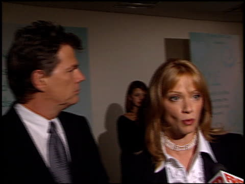 lauren holly at the women in film awards at the century plaza hotel in century city, california on september 20, 2002. - century plaza stock videos & royalty-free footage