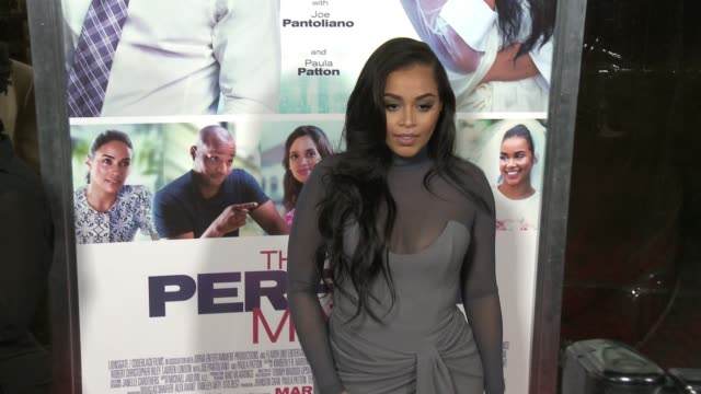 vidéos et rushes de lauren london at the perfect match los angeles premiere at arclight cinemas on march 07 2016 in hollywood california - arclight cinemas hollywood