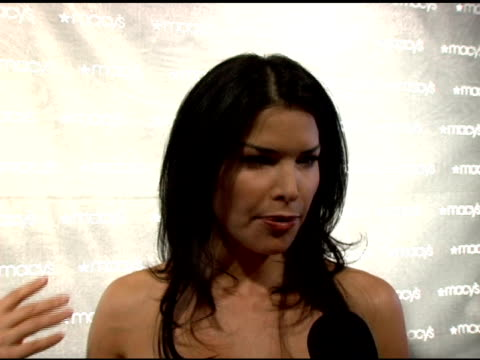 Lauren Sanchez on why she is here tonight the AIDS epidemic and on her show 'So You Think You Can Dance' at the Macy's Passport 2005 Presented by...