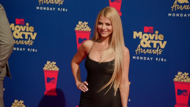 Lauren Sorrentino at the 2019 MTV Movie TV Awards at Barkar Hangar on June 15 2019 in Santa Monica California