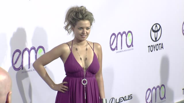 lauren storm at the the 18th annual environmental media awards benefiting the environment at los angeles ca. - environmental media awards stock videos & royalty-free footage