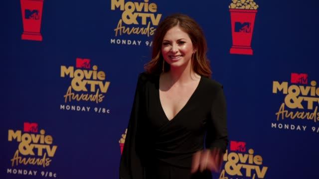 Lauren Zima at the 2019 MTV Movie TV Awards at Barkar Hangar on June 15 2019 in Santa Monica California