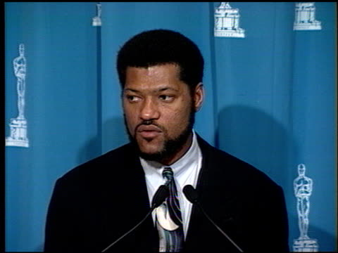 Laurence Fishburne at the 1994 Academy Awards Luncheon at the Beverly Hilton in Beverly Hills California on March 8 1994