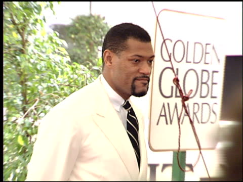 Laurence Fishburne at the 1996 Golden Globe Awards at the Beverly Hilton in Beverly Hills California on January 21 1996