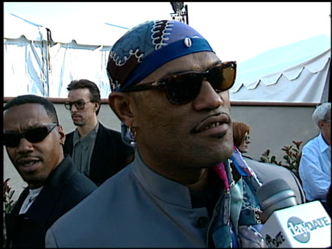 Laurence Fishburne at the 1996 MTV Movie Awards at Disney Studios in Burbank California on June 8 1996