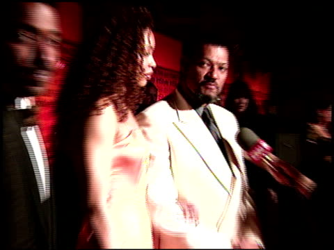 Laurence Fishburne at the 2000 Academy Awards Elton John Party on March 26 2000