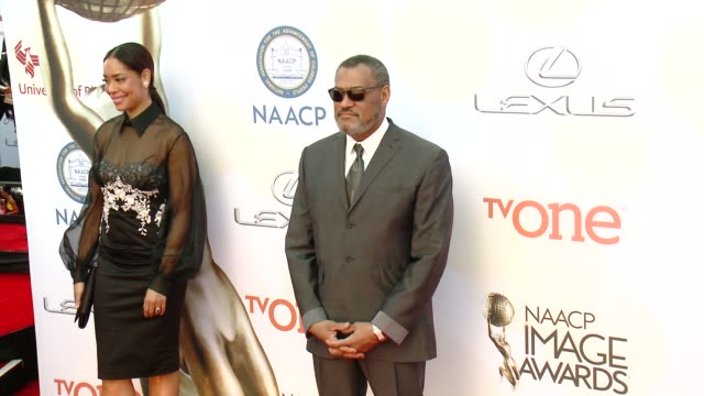 Laurence Fishburne at the 46th Annual NAACP Image Awards Arrivals at Pasadena Civic Auditorium on February 06 2015 in Pasadena California