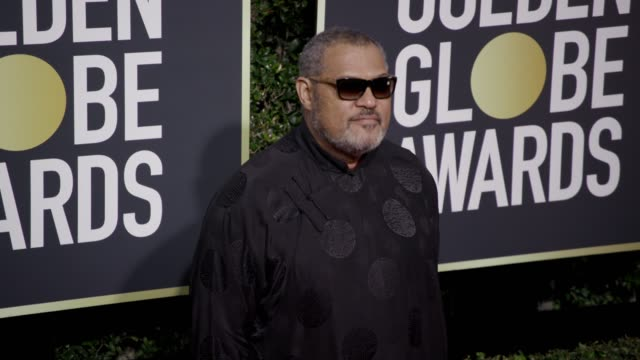 Laurence Fishburne at the 75th Annual Golden Globe Awards at The Beverly Hilton Hotel on January 07 2018 in Beverly Hills California