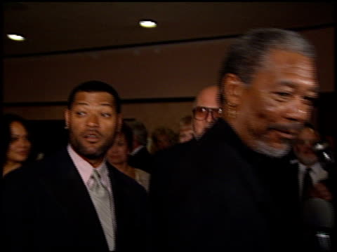 Laurence Fishburne at the American Cinema Awards at the Bonaventure Hotel in Los Angeles California on November 2 1996