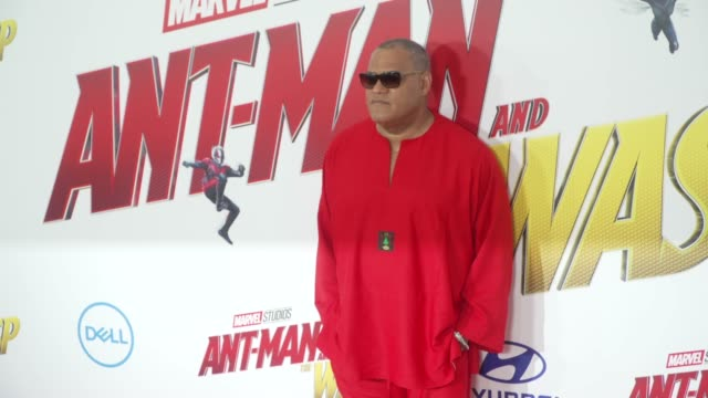 Laurence Fishburne at the AntMan and the Wasp World Premiere at the El Capitan Theatre on June 25 2018 in Hollywood California