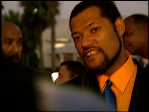 Laurence Fishburne at the 'Hoodlum' Premiere at Magic Johnson Theaters on August 25 1997