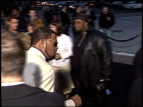 Laurence Fishburne at the Premiere of 'The Matrix Reloaded' on May 7 2003