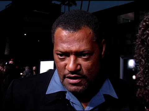 vidéos et rushes de laurence fishburne on what attracted him to the project, on the film being ground-breaking in having an african american girl as the lead at the... - academy of motion picture arts and sciences