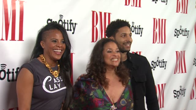 laurie ann gibson and debbie allen at bmi urban awards 2012 on 9/7/2012 in beverly hills, california - debbie allen stock videos & royalty-free footage