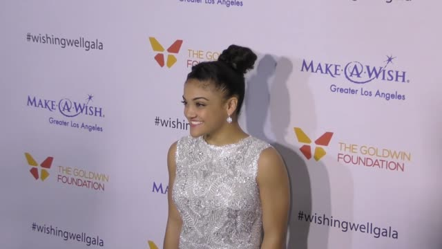 Laurie Hernandez at the 4th Annual Wishing Well Winter Gala Presented By MakeAWish Greater Los Angeles at Hollywood Palladium on December 07 2016 in...