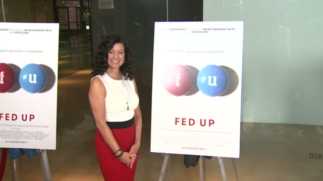 Laurie Lennard at the Fed Up Los Angeles Premiere at Pacific Design Center on May 08 2014 in West Hollywood California