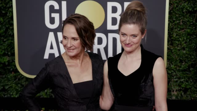 Laurie Metcalf and Zoe Perry at the 75th Annual Golden Globe Awards at The Beverly Hilton Hotel on January 07 2018 in Beverly Hills California