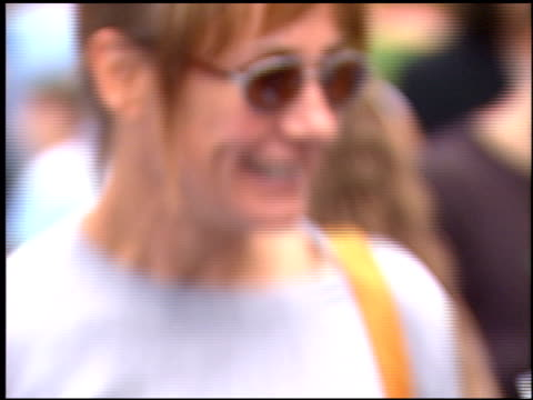 laurie metcalf at the 'blue's big musical movie' premiere at paramount studios in hollywood california on september 23 2000 - paramount studios stock videos and b-roll footage
