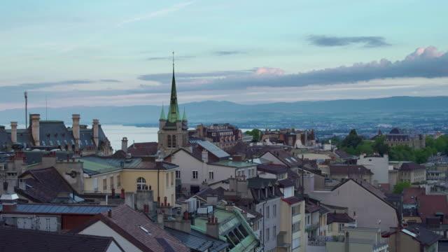 lausanne, schweiz - geografische lage stock-videos und b-roll-filmmaterial