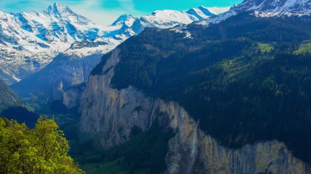 lauterbrunnen, switzerland - valley stock videos & royalty-free footage