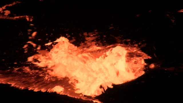 lava - erupting stock videos & royalty-free footage