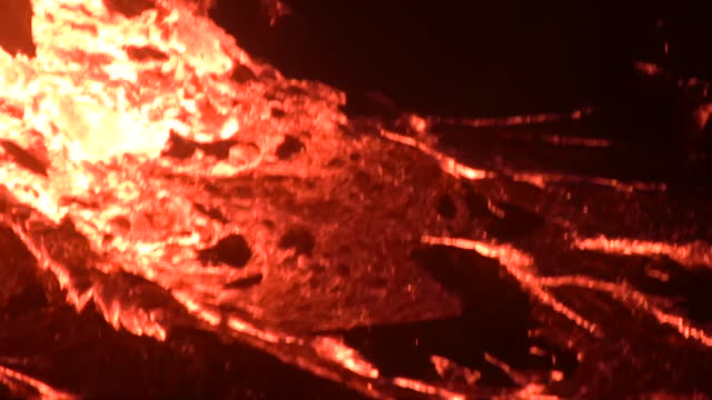 lavafall 2 and lava fountains - 1 minute or greater stock videos & royalty-free footage