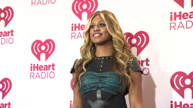 Laverne Cox at 2014 iHeartRadio Music Festival And Village Day 2 at MGM Grand on September 20 2014 in Las Vegas Nevada