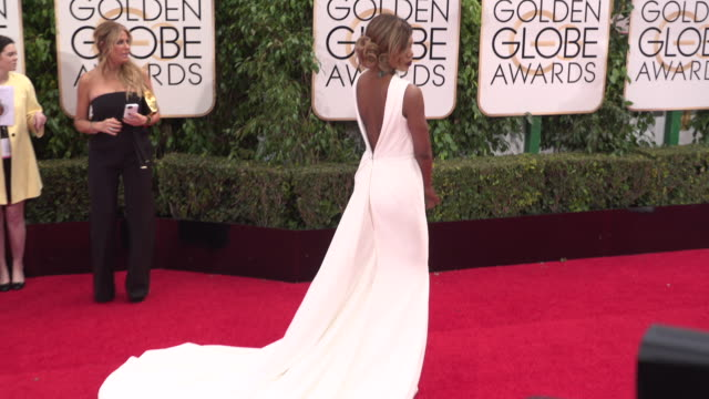 Laverne Cox at 73rd Annual Golden Globe Awards Arrivals at The Beverly Hilton Hotel on January 10 2016 in Beverly Hills California 4K