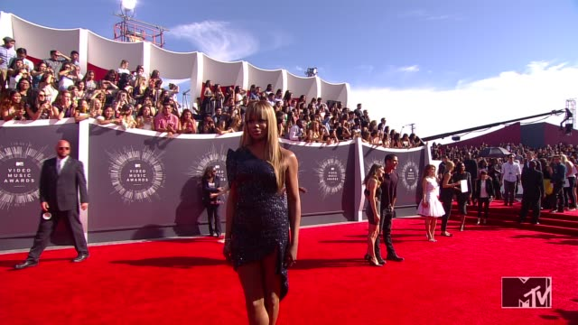 Laverne Cox at the 2014 MTV Video Music Awards at The Forum on August 24 2014 in Inglewood California