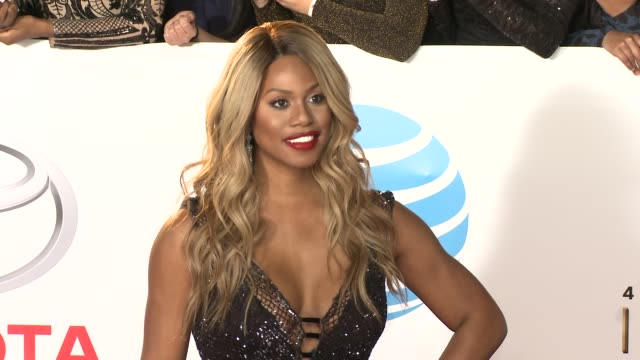 Laverne Cox at the 49th NAACP Image Awards at Pasadena Civic Auditorium on January 15 2018 in Pasadena California