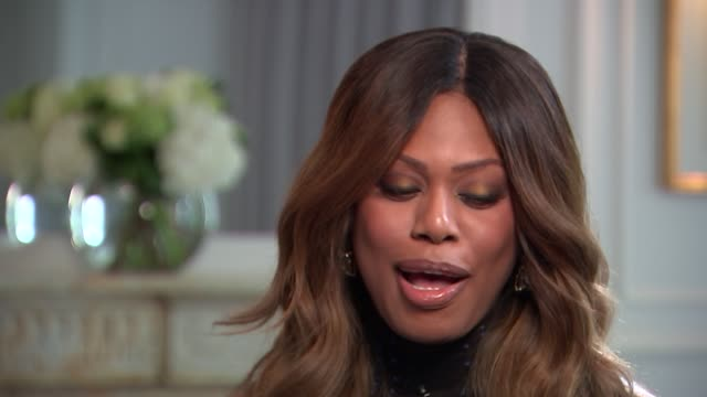Laverne Cox interview Laverne Cox interview SOT on transgender people in America being under attack with current administration