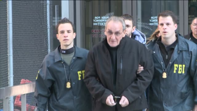 law enforcement officers nabbed 78 year old asaro an alleged top bonanno crime family member and participant in the infamous 1978 lufthansa heist at... - participant stock videos & royalty-free footage