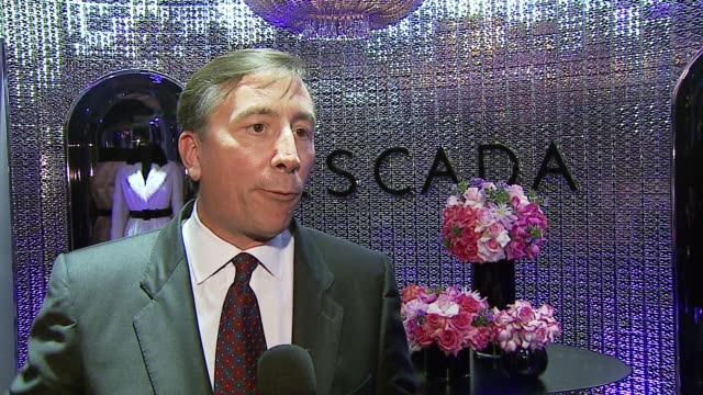 lawrence c deparis on why tonight's event is exciting on what this means for escada on why the store is so unique on favorite design elements of the... - escada stock videos & royalty-free footage
