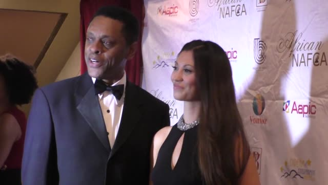 lawrence hilton-jacobs at the nollywood and african film critics' awards at the orpheum theatre in los angeles at celebrity sightings in los angeles... - kritiker stock-videos und b-roll-filmmaterial