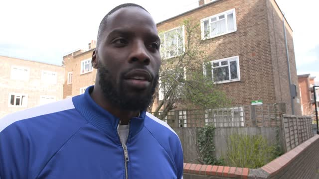 lawrence okolie wins wbo world cruiserweight title; england: london: ext lawrence okolie interview sot - i think there was a lot of character... - individuality stock videos & royalty-free footage