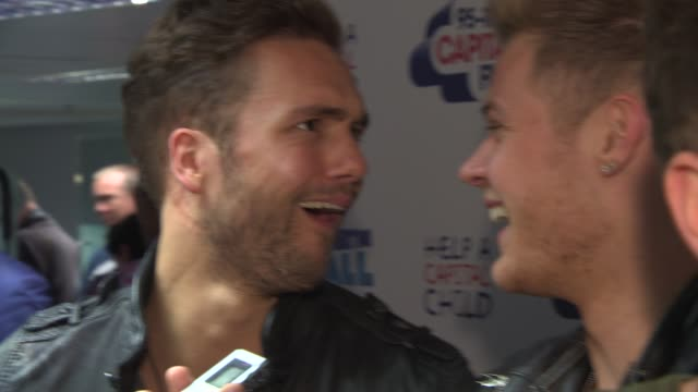 lawson on prparing to play webley and on simon cowell at the capital summertime ball 2013 in london, uk - 2013 stock videos & royalty-free footage