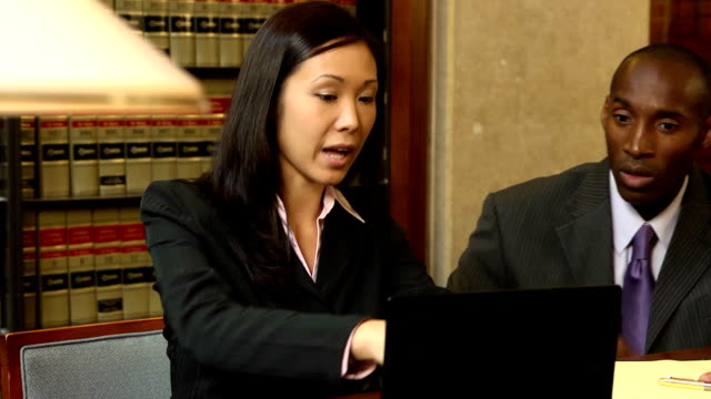 lawyers prepare for trial - verd - law stock videos and b-roll footage