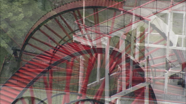 laxey wheel - isle of man stock videos & royalty-free footage