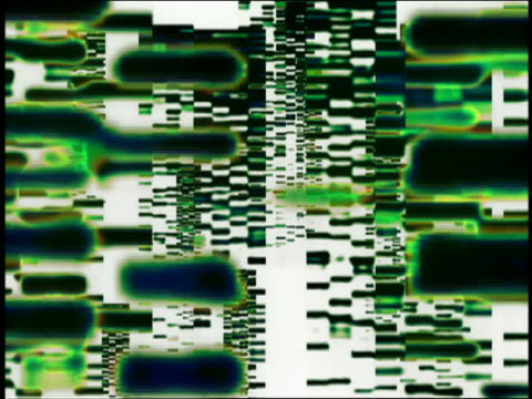 layers of gene sequences moving up screen - psychedelic stock-videos und b-roll-filmmaterial