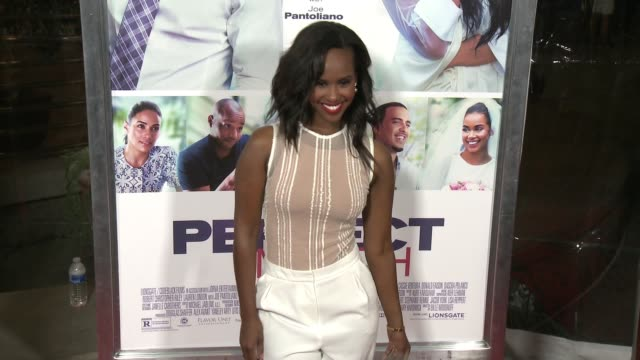 layla jama at the perfect match los angeles premiere at arclight cinemas on march 07 2016 in hollywood california - arclight cinemas hollywood stock videos & royalty-free footage