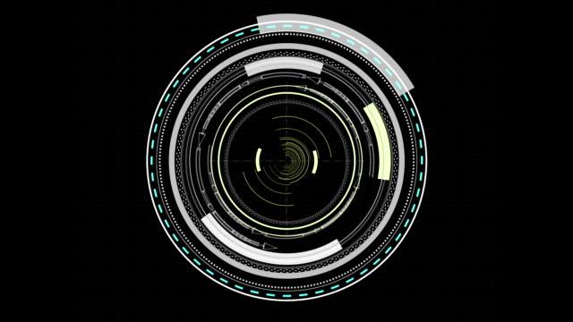 vídeos de stock e filmes b-roll de esquema de hud infográfico elementos - vingança