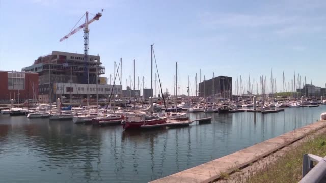 vídeos de stock, filmes e b-roll de le havre is one of 9 host cities for the 2019 world cup in france - campeonato esportivo