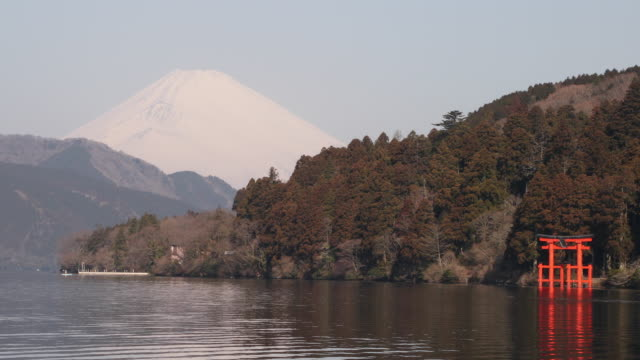 Le lac ashinoko et son Torii