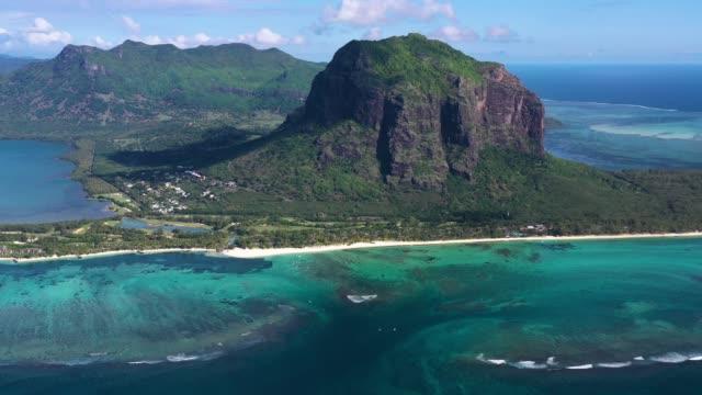 Le Morne auf Mauritius Insel, tolle Naturkulisse