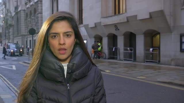 Rahim Mohammadi denies murder London The Old Bailey Reporter to camera SOT