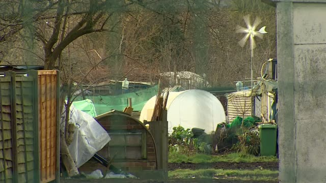 Rahim Mohammadi sentenced to minimum of 19 years ENGLAND London Colindale EXT General view Colindale allotments