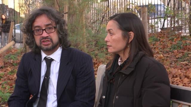 Rahim Mohammadi sentenced to minimum of 19 years ENGLAND London EXT Mark AdriSoejoko and Tess AdriSoejoko interview SOT