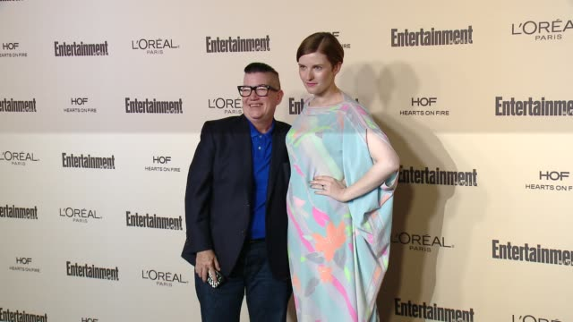 lea delaria and chelsea fairless at entertainment weekly's preemmy celebration at fig olive melrose place on september 18 2015 in west hollywood... - entertainment weekly stock videos and b-roll footage